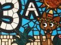 """""""La casa de Pepe (Pepe's house)"""" mosaic house number"""