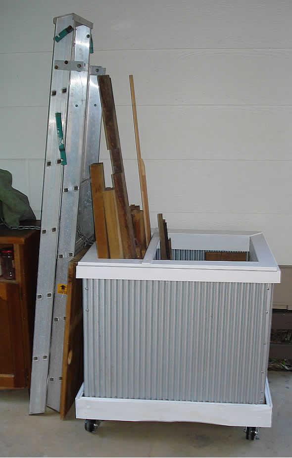 Lumber storage box